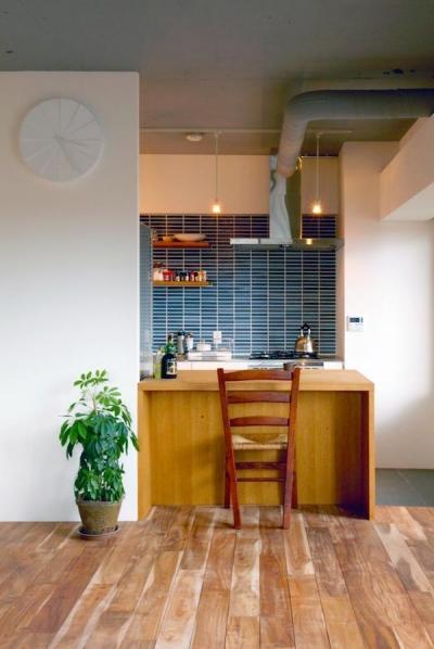 ダイニングキッチン (すぎむらー和食器から広がったシンプルな和モダン)