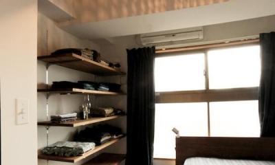 すぎむらー和食器から広がったシンプルな和モダン (ベッドルーム)