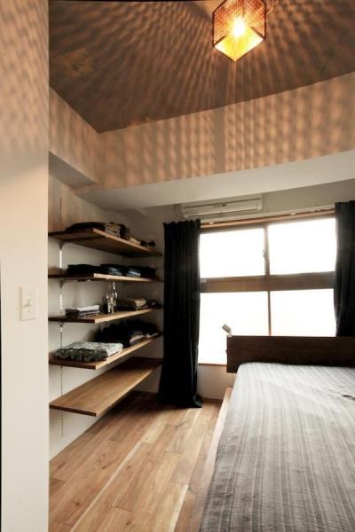 ベッドルーム (すぎむらー和食器から広がったシンプルな和モダン)