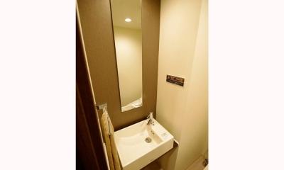 築24年でもまるで新築!! モダンリノベーション (トイレ)