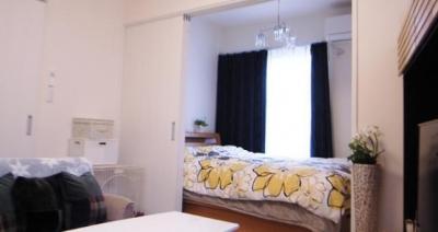 寝室 (夢のインナーガレージ)