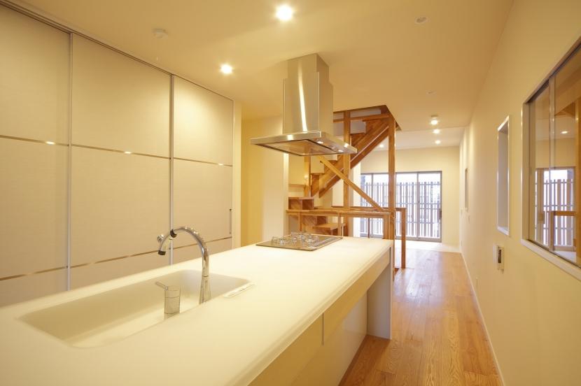 門型フレーム 住宅の写真 LDK