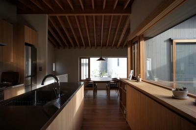 函南町の家 (居間)