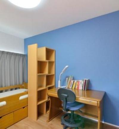 子供部屋 (坪庭のある北欧ハウス)