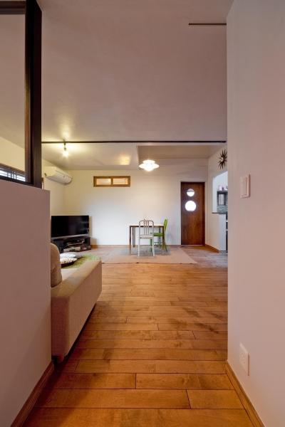 【2×4】趣味と暮らす家 (ダイニング)