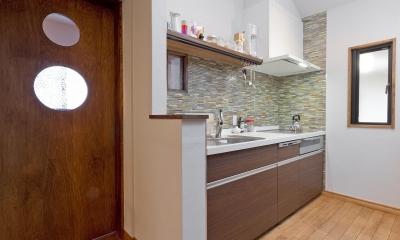 【2×4】趣味と暮らす家 (キッチン)