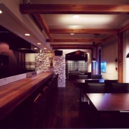 リノベーション・リフォーム会社 ワークセブンの住宅事例「沖縄料理のお店」