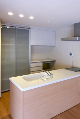川西市 A邸 (オープンキッチン)