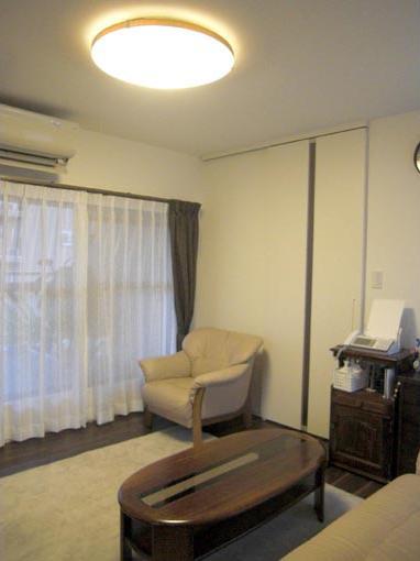 Y邸 マンション改装の部屋 リビング