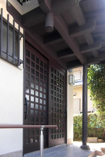 M邸 二世帯住宅の部屋 玄関ドア