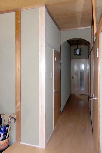 M邸 二世帯住宅の部屋 1F廊下