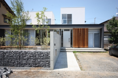 南外観 (Ame-House)
