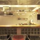夢をたくさん詰め込んだカフェスタイルハウスの写真 清潔感のあるカウンター