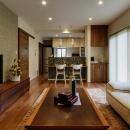 イトーピアホームの住宅事例「のびやかな広がりに、心が深呼吸できる家」