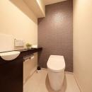 落ち着いた雰囲気のトイレ