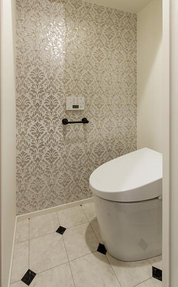 旅の途中…の部屋 ヨーロッパアンティークの雰囲気のトイレ