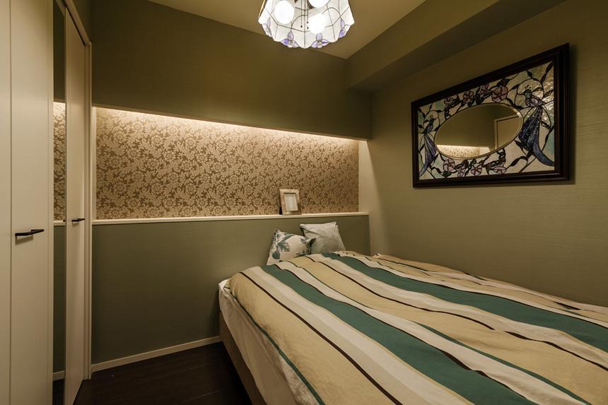 旅の途中…の部屋 エレガントな寝室