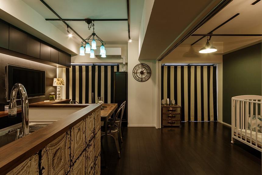 旅の途中…の部屋 生活感を排除したスタイリッシュな空間