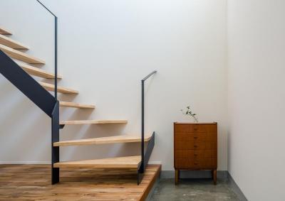 土間・階段 (はじまりの家)