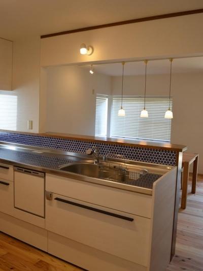 『高屋の家』築24年の住宅リフォーム (キッチン)