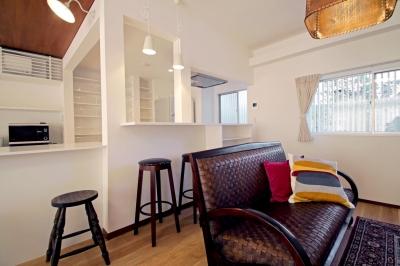 キッチン (リノベーション×シェアハウスで菜園を育てながら満喫するスローライフ)