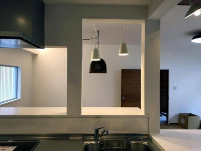 キッチン:2 (リノベーション×シェアハウスで菜園を育てながら満喫するスローライフ)