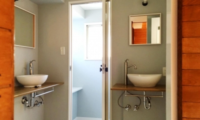 サニタリールーム|リノベーション×シェアハウスで菜園を育てながら満喫するスローライフ