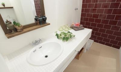 ナチュラルスタイル~Heritage アイアン素材の融合~ (洗面室)