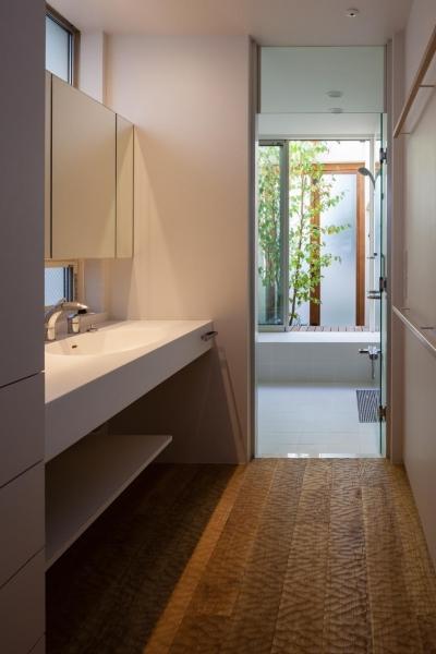 洗面所 (朝庭の住まい)