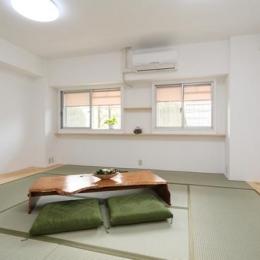 寝屋川市 M様邸|マンションリノベーション工事 (広い和室)