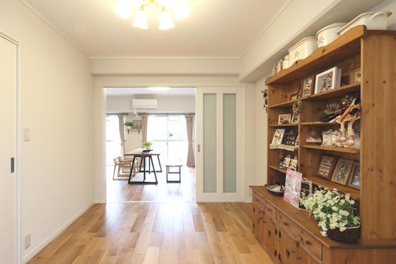 寝屋川市 M様邸|マンションリノベーション工事の部屋 開放的な空間