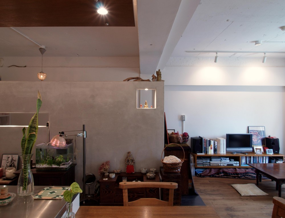 mimi—三軒茶屋の「身の丈ハウス」 (リビングルーム)