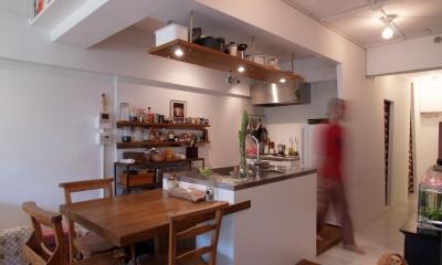mimi—三軒茶屋の「身の丈ハウス」 (キッチン)
