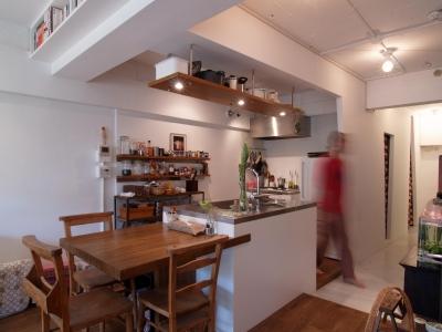 キッチン (mimi—三軒茶屋の「身の丈ハウス」)