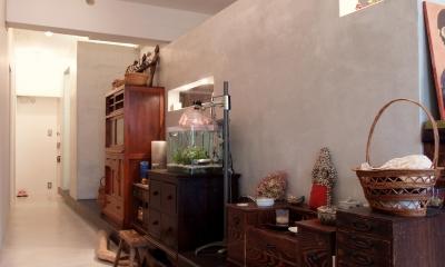 mimi—三軒茶屋の「身の丈ハウス」 (廊下)