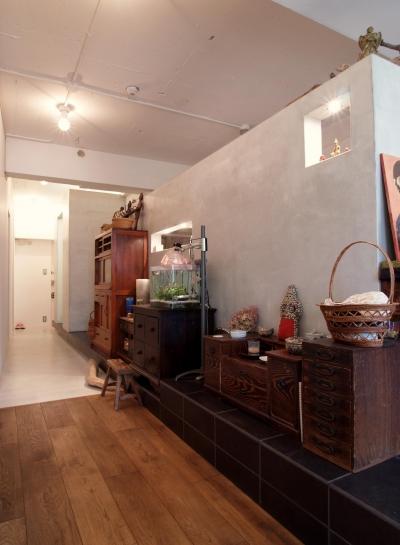 廊下 (mimi—三軒茶屋の「身の丈ハウス」)