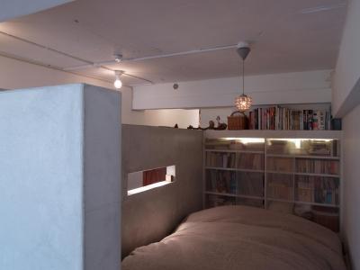 ベッドルーム (mimi—三軒茶屋の「身の丈ハウス」)