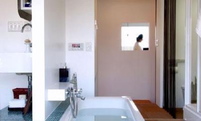 AREAーリゾートホテルのスパのようなリラックス空間 (リビングルーム)