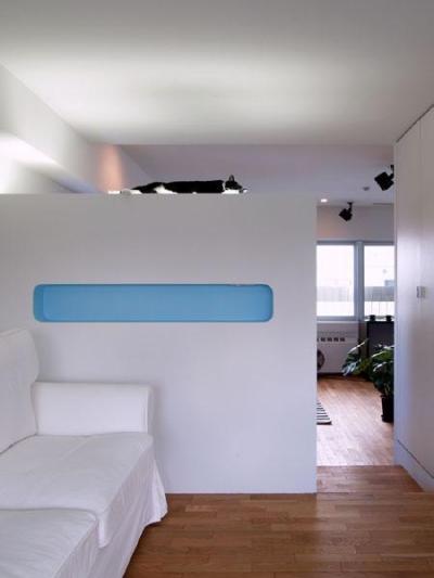 リビングルーム (AREAーリゾートホテルのスパのようなリラックス空間)
