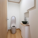 シンプルなトイレ