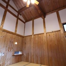 築54年の蔵を寝室にリノベーション