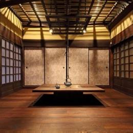 枚方市 T様邸蔵と母屋のリノベーション工事 (御主人の思い入れのあるいろり部屋)