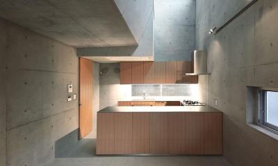 TKR[片持ちスラブの家] (キッチン1)