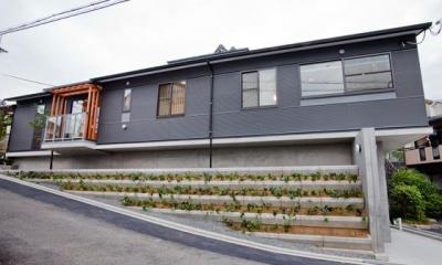 K・プラン・サ-ビスの注文住宅の家