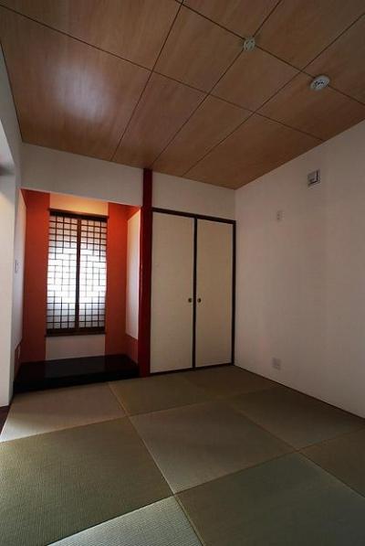 「Kurenai色のある家」 (落ち着き和室)