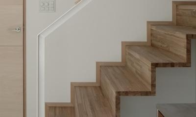 043八ヶ岳原村Tさんの家 (階段)