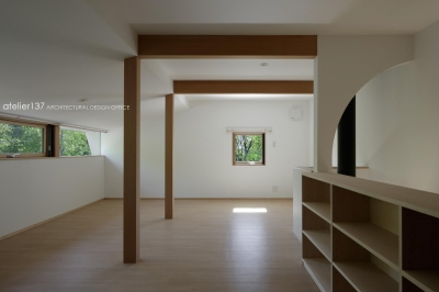 ロフト (043八ヶ岳原村Tさんの家)