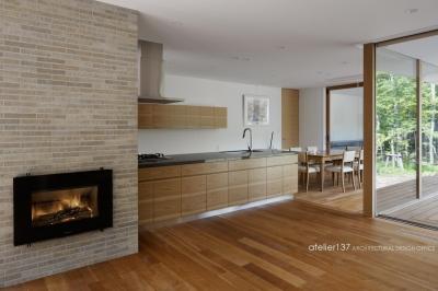 キッチン (038那須Fさんの家)