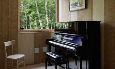 038那須Fさんの家 (音楽室)