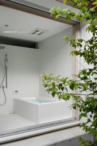 浴室 (038那須Fさんの家)